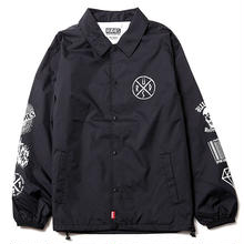 CONFUSE COACH JACKET / BLACK