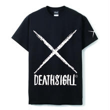 deathsight logo tees /BLACK