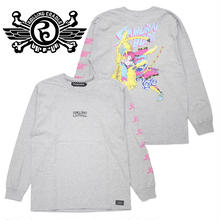 SAMURAI BOP LONG T-SHIRT / GRAY