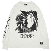 HELL L/S TEES / WHITE