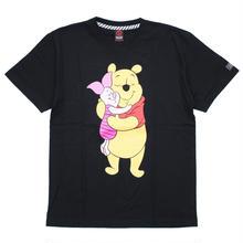 Pooh&Piglet T-SHIRT / BLACK