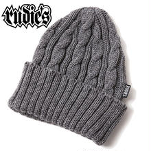WASTE CABLE KNITCAP / GRAY