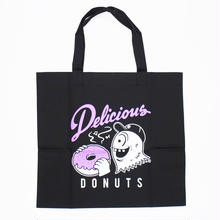 Donut of Heart TOTE / BLACK