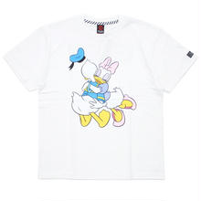Donald&Daisy T-SHIRT / WHITE