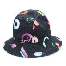 All Flavor of RC BELL HAT / BLACK-WHITE