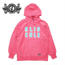RLIG CDLE PIGMENT HOODIE / RED