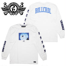 RCxE.T. MOON LIGHT LONG T-SHIRT / WHITE