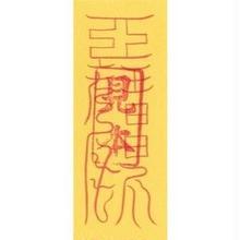 8E)洞神下元四景霊符 腫れ物を防止する符 (携帯1枚)