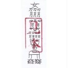 10A)疫病・流行病を防止する護符  (携帯1枚)