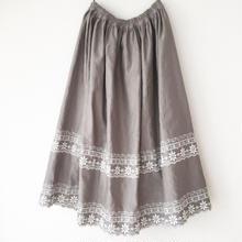 gathered skirt / 03-7107001
