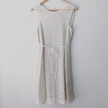 allover eyelet dress / 03-5305002