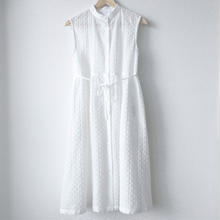 sleeveless gathered op / 03-7205003