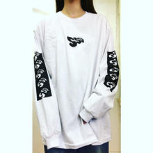 SSD small logo long sleeve T/white
