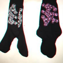 COW bones socks!