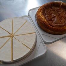 ベイクド&レアチーズケーキ・2台セット
