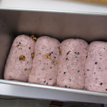 黒米とくるみ食パン  2斤