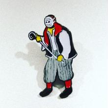 """[五木田智央]""""海賊男"""" ピンズ"""