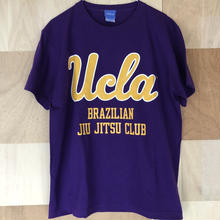 "[UCLA]""UCLA BJJ"" tee-shirt(purple)"