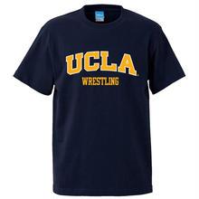 """UCLA WRESTLING"" tee-shirt(navy)"