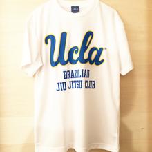 """[UCLA]""""UCLA BJJ"""" ドライメッシュtee-shirt(white)"""