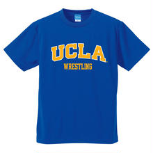 "[UCLA]""UCLA WRESTLING"" ドライメッシュtee-shirt(cobalt-blue)"