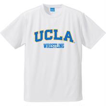 """[UCLA]""""UCLA WRESTLING"""" ドライメッシュtee-shirt(white)"""