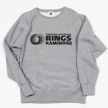 """""""RINGS KAMINOGE """" 12oz  sweat(gray)"""