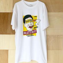"""ジャイアント馬場 """"BABA THE GIANT"""" tee-shirt(white)"""