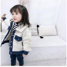(即納♡)(kids☆)新作★ファージャケット(ホワイト)