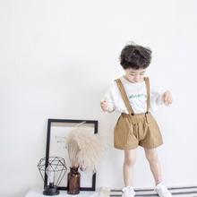 (☆即納☆)ロゴ入りTシャツ&サロペット2点set