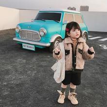 (即納♡)(kids☆)新作★ファージャケット(ベージュ)