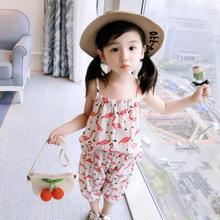 (即納♡)(kids☆)フラミンゴ柄キャミ&パンツ2点set