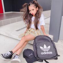 (即納♡)(kids☆)イエローロゴTシャツ&チェックスカート風パンツSET