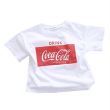(即納♡)(MAMA用)赤ロゴコカコーラTシャツ