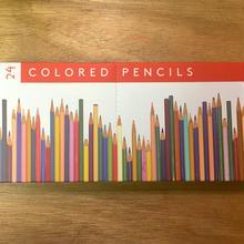 フランク・ロイド・ライトが好んだ色の色鉛筆24本セット
