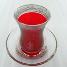 チャイグラス(赤)