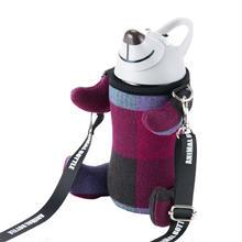 ANIMALBOTTLE  Check GRAY (thermo mug)