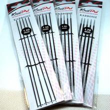 KnitPro編み針 Karbonz  5本針 20センチ