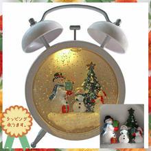 クリスマス 飾り LED ライトオブジェ スノーマン ミュージックボックス 置物  i0292