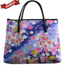 日本製 和柄 バッグ レッド ミニ 桜 花柄 送料無料 着物 浴衣 9030