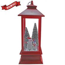 クリスマス 飾り スノーマン  LEDライト オブジェ 置物 ガラス インテリア i0307