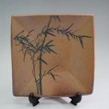 【四角大皿】竹