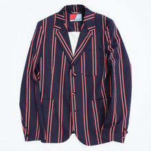 オリジナルJOHN STRIPE SCHOOL JACKET NAVY