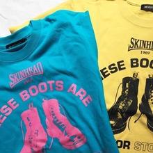 ネバートラスト THESE BOOTS S/S T-Shirt