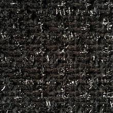 ツイード生地  158   ブラック