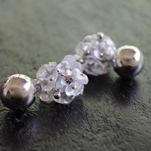 Ciita--Blossom Earrings Crystal