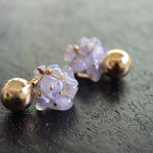 Ciita--Blossom Earrings Chalcedony