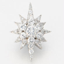 Floating ring Southern Cross-silver