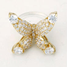 Floating ring Papillon-gold