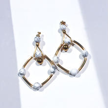 Ciita--SOLSTICE earrings 白